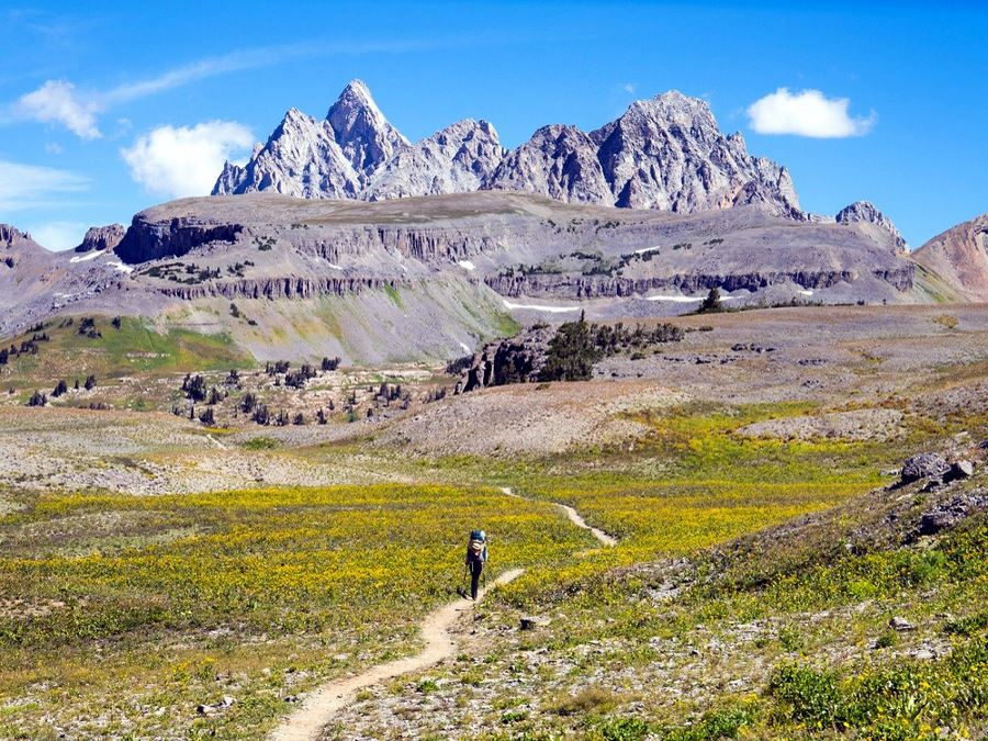 Teton Crest Trail hike in Grand Teton National Park is one of America's 10 Best Backpacking Trips