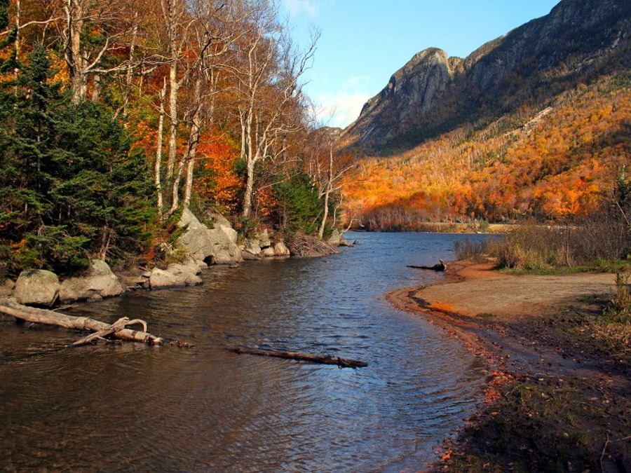 Profile Lake in New Hampshire is one of America's 10 Best Backpacking Trips