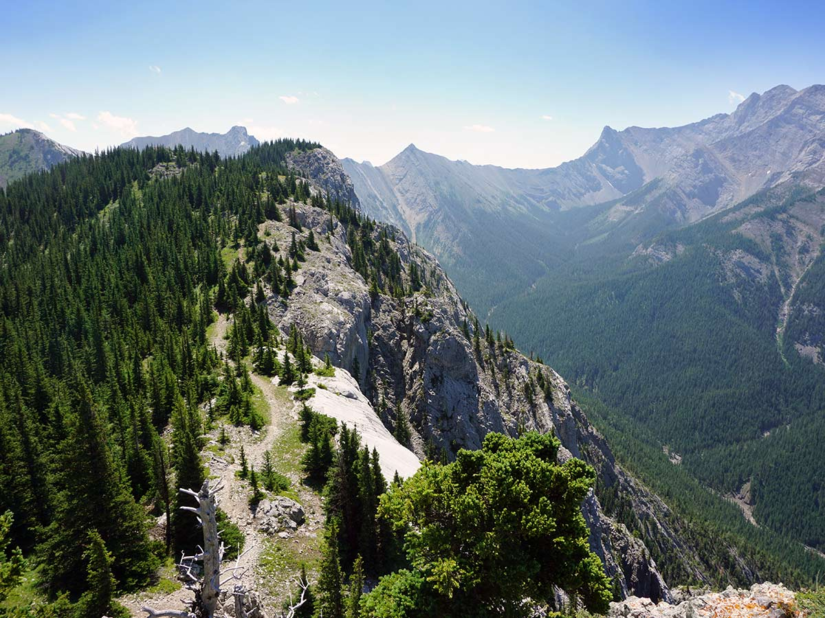 Heart Mountain Horseshoe hike is one of top 10 Canmore hikes