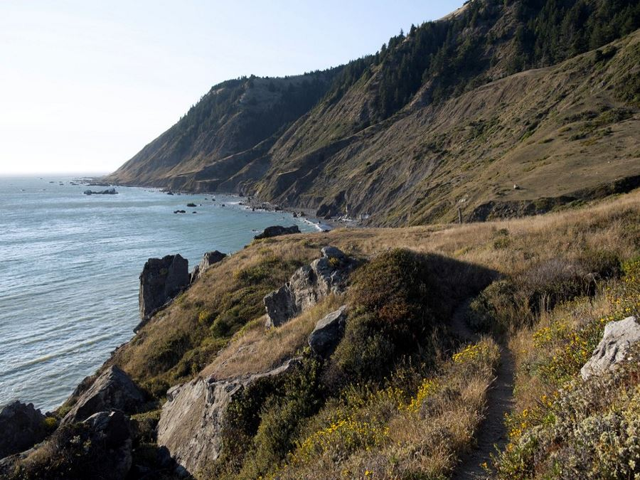 The Lost Coast Trail in California is one of America's 10 Best Backpacking Trips