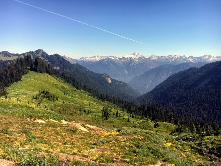 Glacier Peak Wilderness on the Pacific Crest Trail
