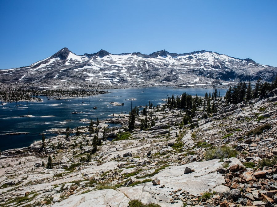 Beautiful views from the Pacific Crest Trail