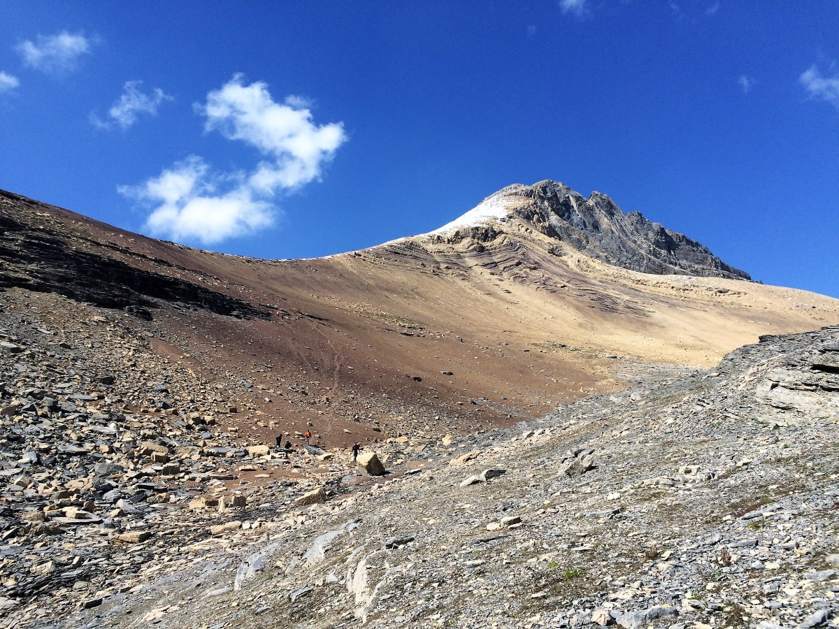 Trail of the Helen Lake and Cirque Peak Hike on Icefields Parkway, Alberta