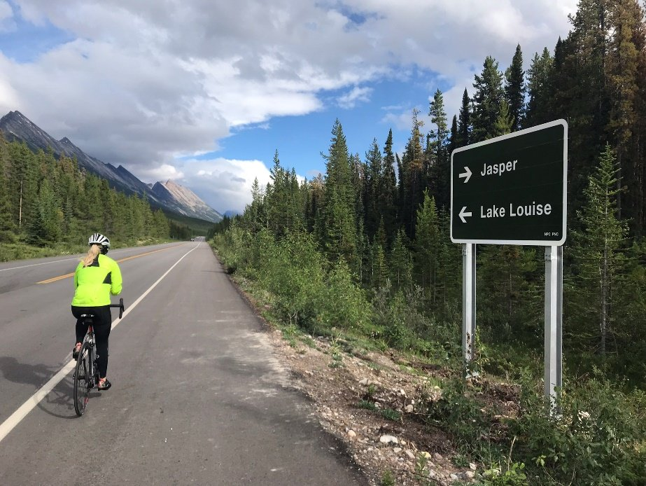 Guided biking tours in Canadian Rocky Mountains