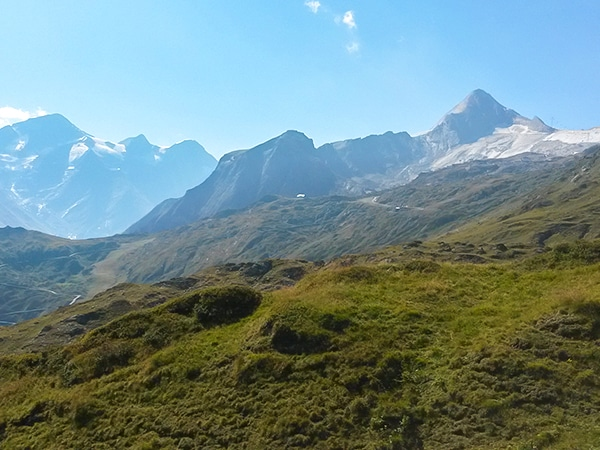 Scenery from the Alexander-Enzinger Trail hike in Zell am See and Kaprun Valley, Austria