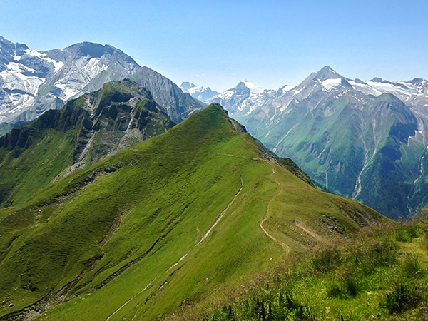 Imbachhorn hike in Zell am See and Kaprun Valley, Austria