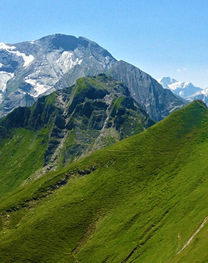Trail of the Imbachhorn hike in Zell am See and Kaprun Valley, Austria