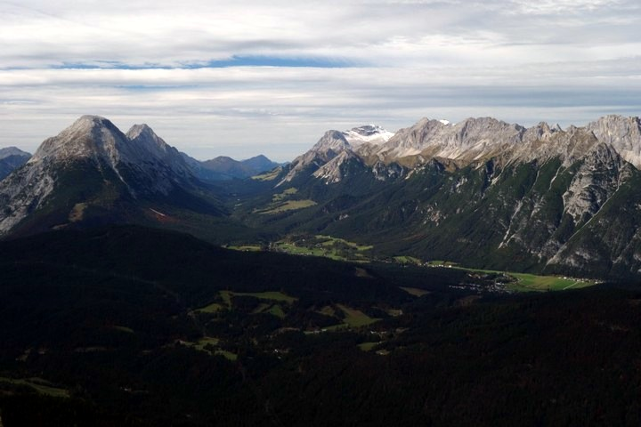 Reither Spitze hike is one of top 10 hikes around Innsbruck, Austria