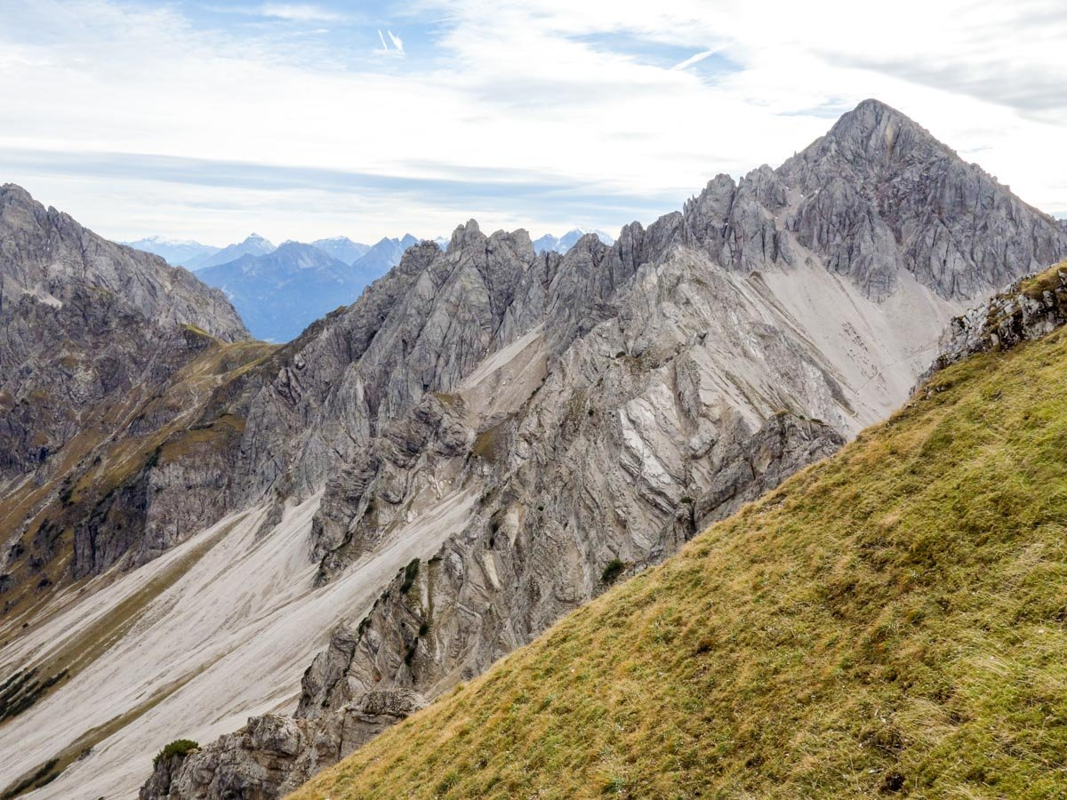 Scenery of the Reither Spitze Hike in Innsbruck, Austria