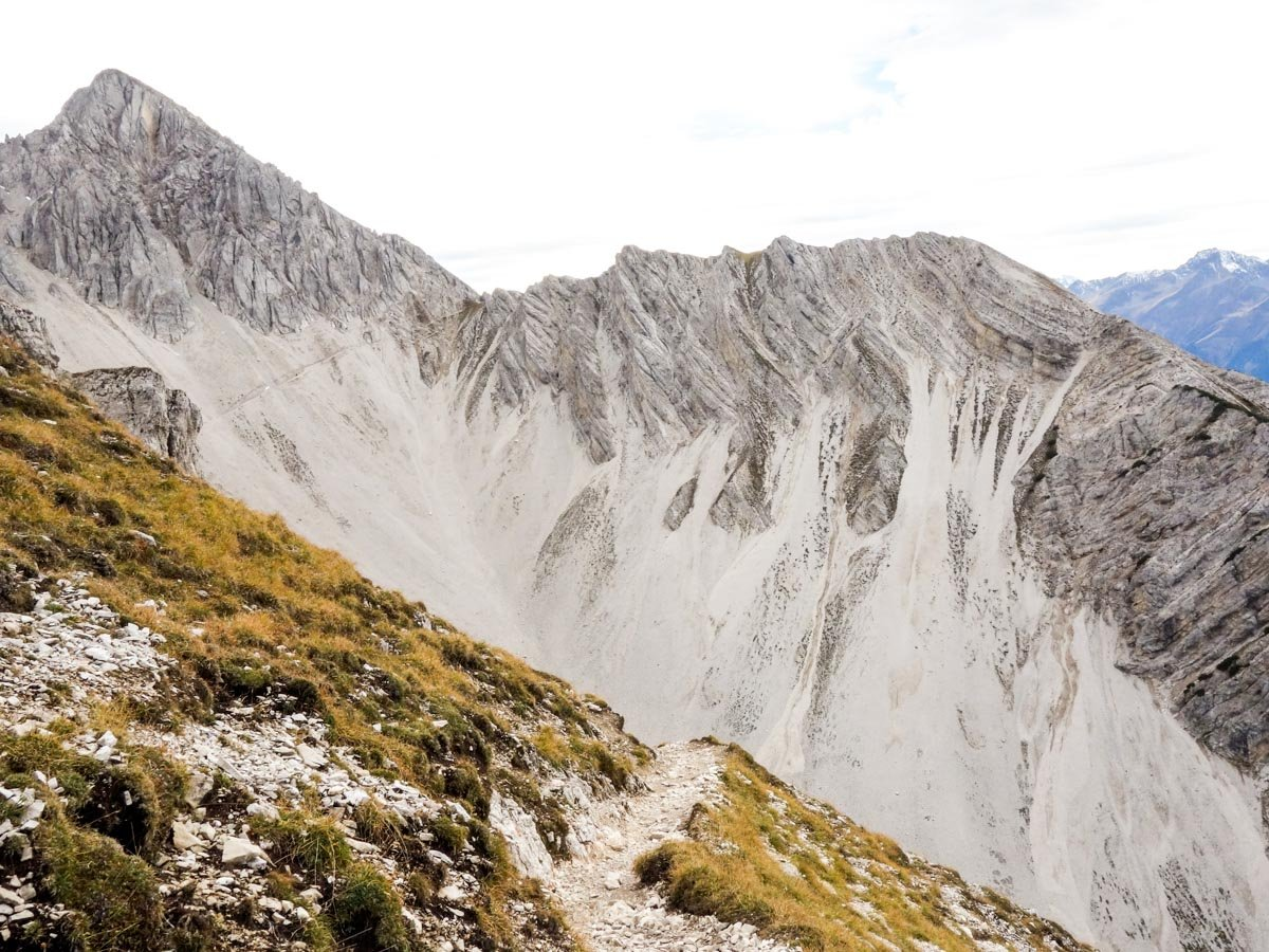 Great views of the Reither Spitze Hike in Innsbruck, Austria