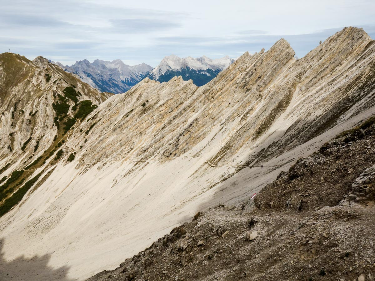 Trail of the Reither Spitze Hike in Innsbruck, Austria