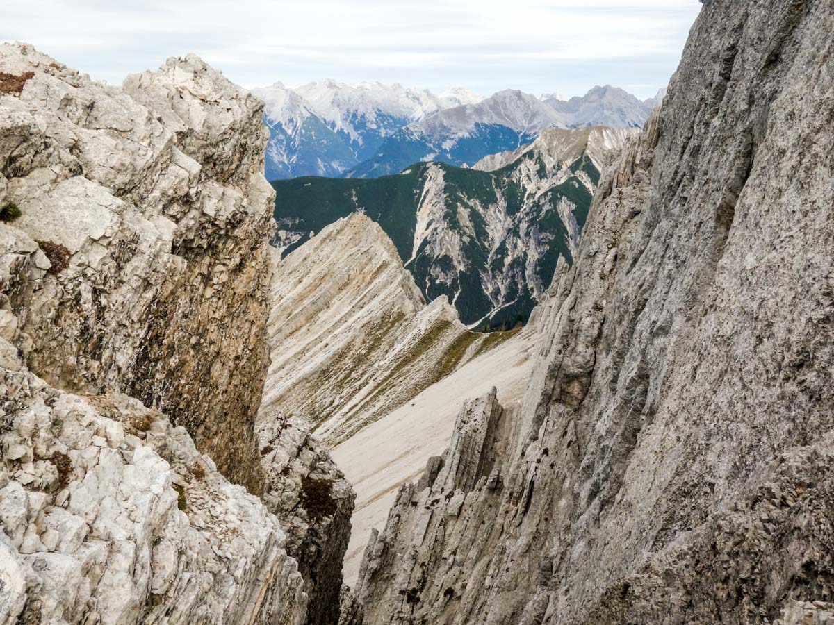 Alpine atmosphere on the Reither Spitze Hike in Innsbruck, Austria