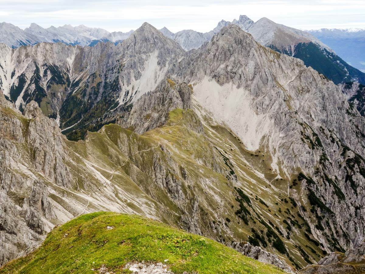 Views from the Reither Spitze Hike in Innsbruck, Austria