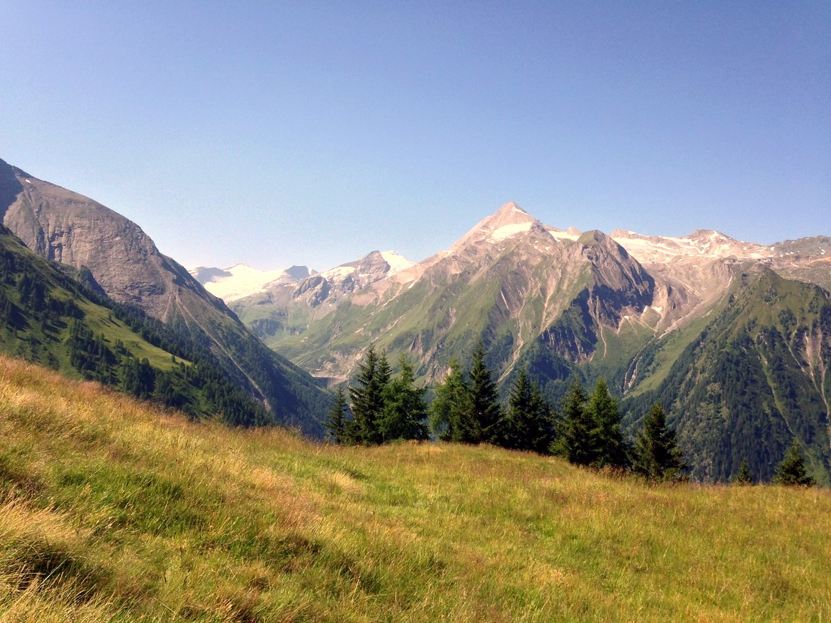 Imbachhorn hike is one of top 10 hikes around Zell am See and Kaprun, Austria