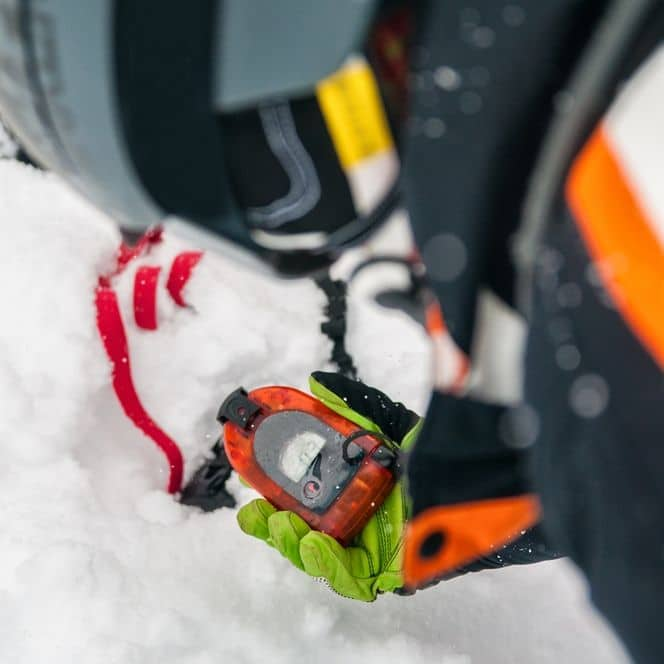Avalanche beacon is an important safety tool for hikers in winter