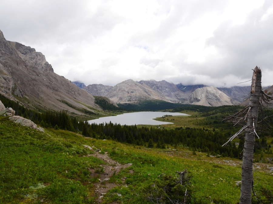 Baker Lake is near one of best backcountry campgrounds in Banff National Park