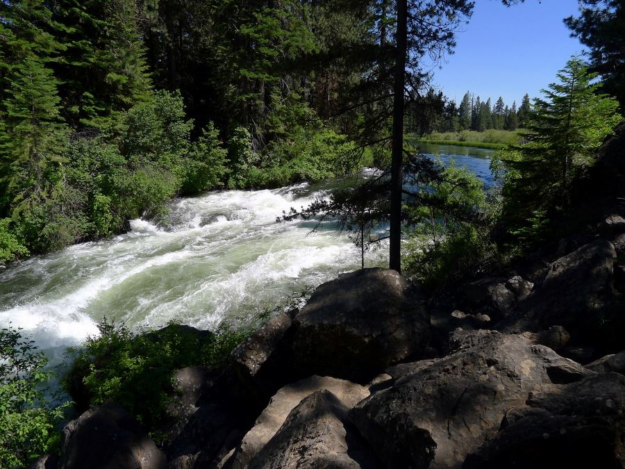 Benham Falls shouldn't be missed out when planning your trip to Bend, Oregon