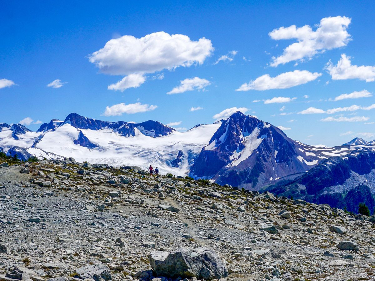 Panorama from the Blackcomb Meadows Hike in Whistler, British Columbia