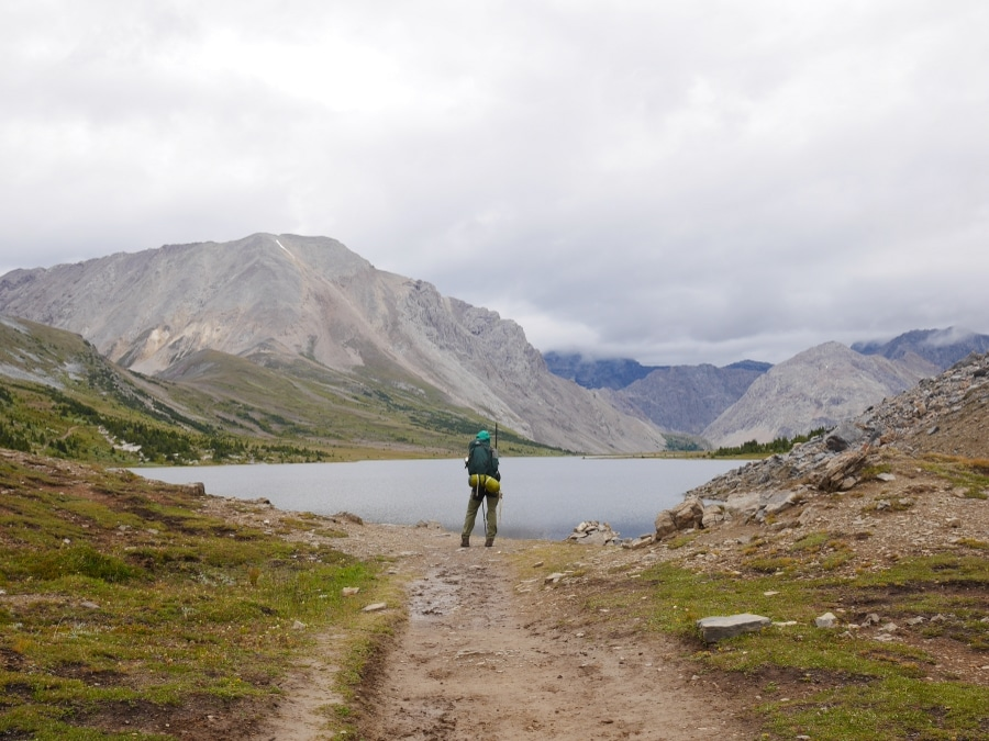 Boulder Pass is not far from one of best backcountry campgrounds in Banff National Park
