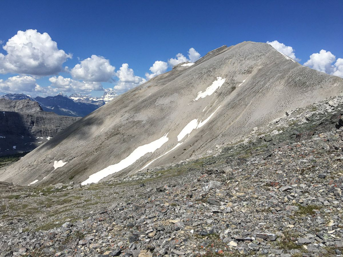 Approaching the pass on the Buller Pass Hike from Smith-Dorrien Trail in Kananaskis, near Canmore