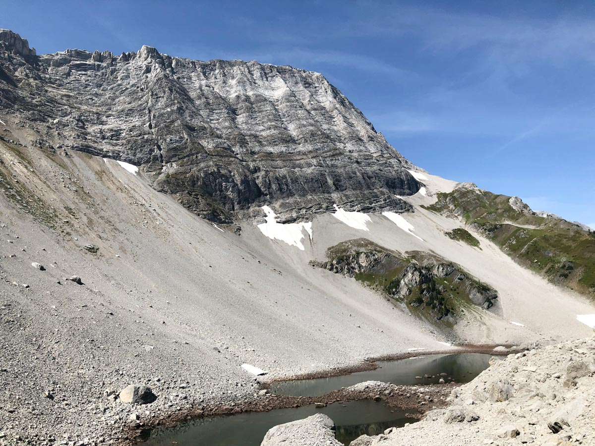 Views of the Black Prince Lakes and Cirque Hike near Smith-Dorrien Trail in Kananaskis, near Canmore