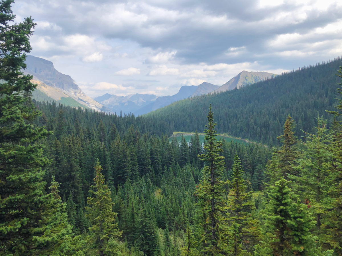 Trail of the Lillian and Galatea Lakes Hike in Kananaskis, near Canmore