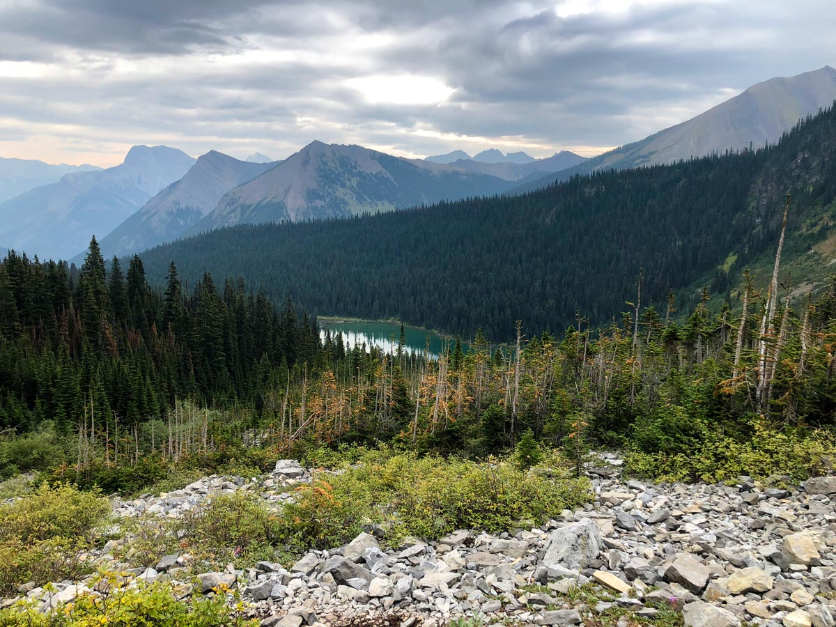 Views from the Guinn's Pass Hike in Kananaskis, near Canmore