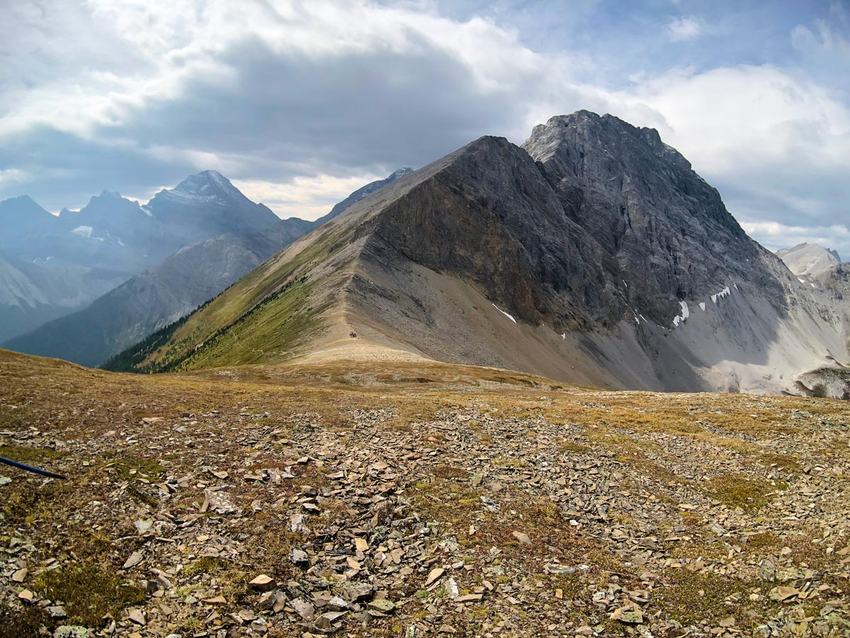 Looking back on the Guinn's Pass Hike in Kananaskis, near Canmore
