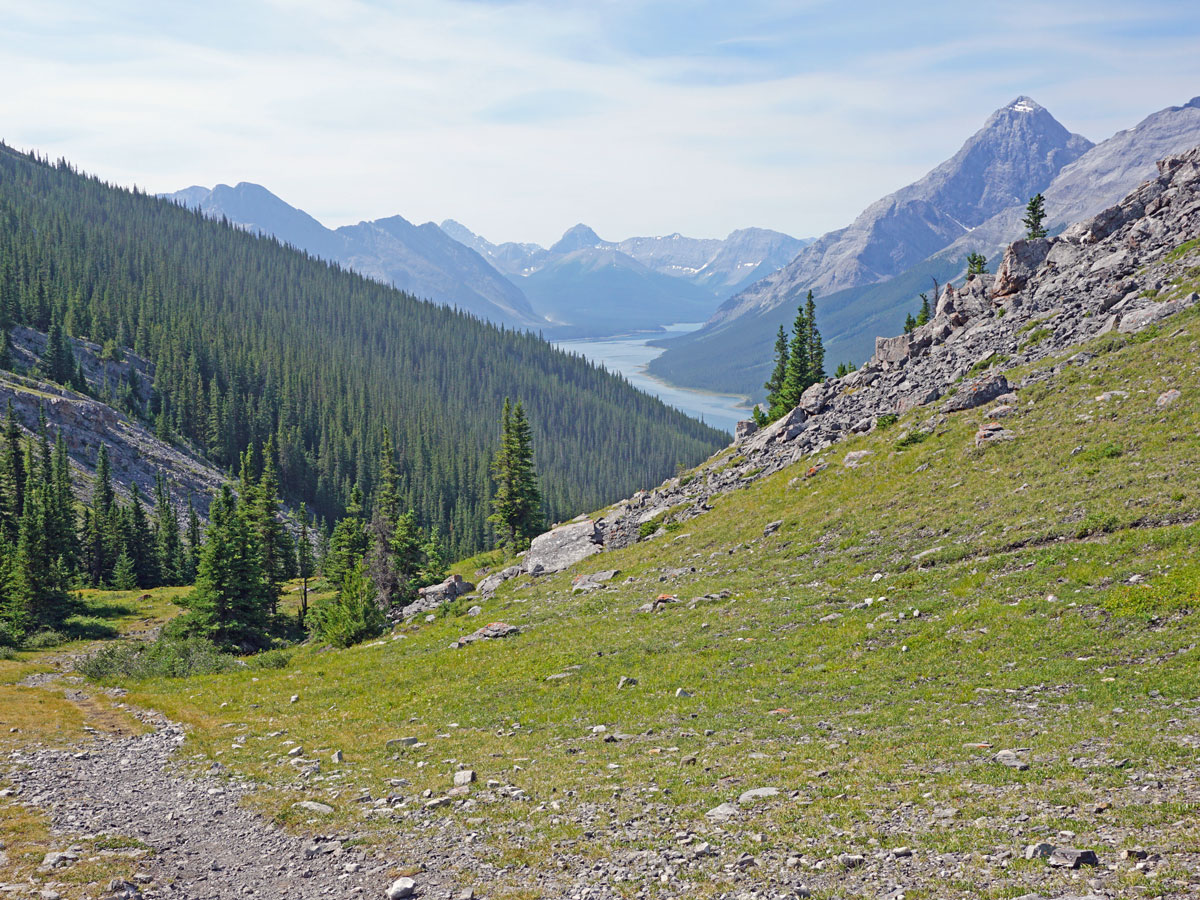 Stunning views of the West Wind Pass Hike near Smith-Dorrien Trail in Kananaskis, near Canmore