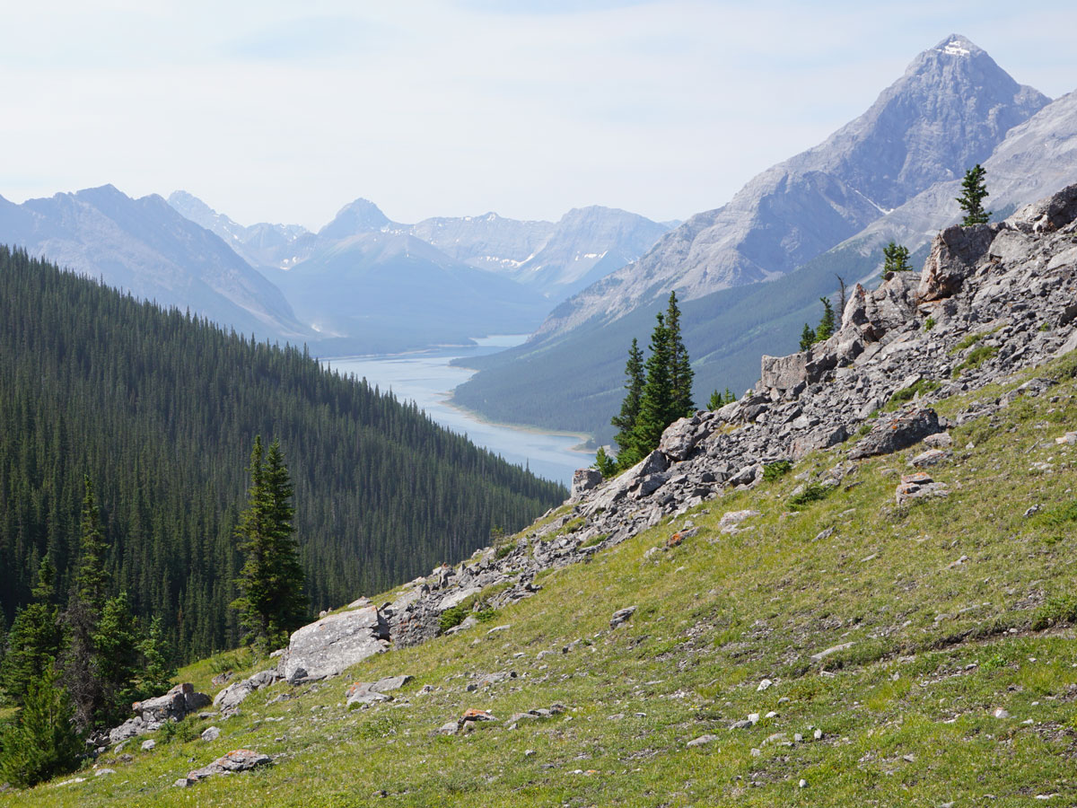 West Wind Pass hike is one of top 10 hikes on the Smith-Dorrien Trail