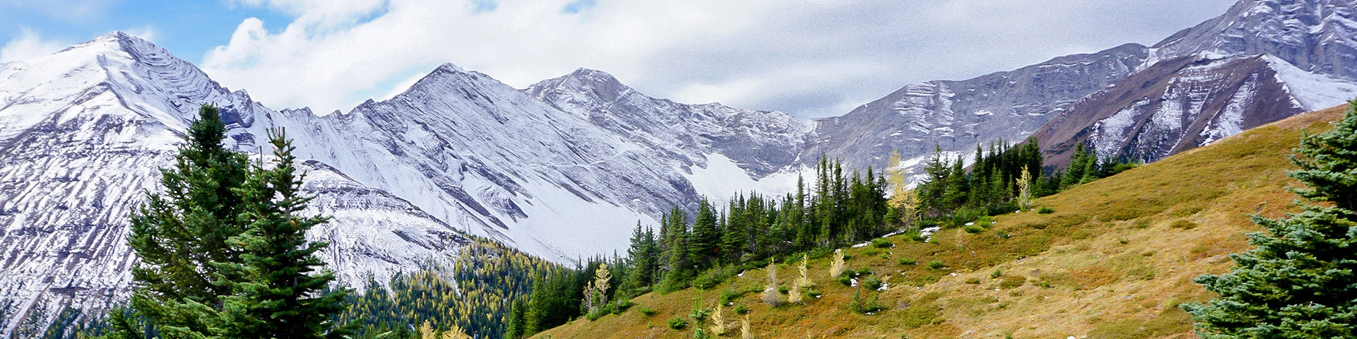 Scenery from the Ptarmigan Cirque hike in Kananaskis, the Canadian Rockies