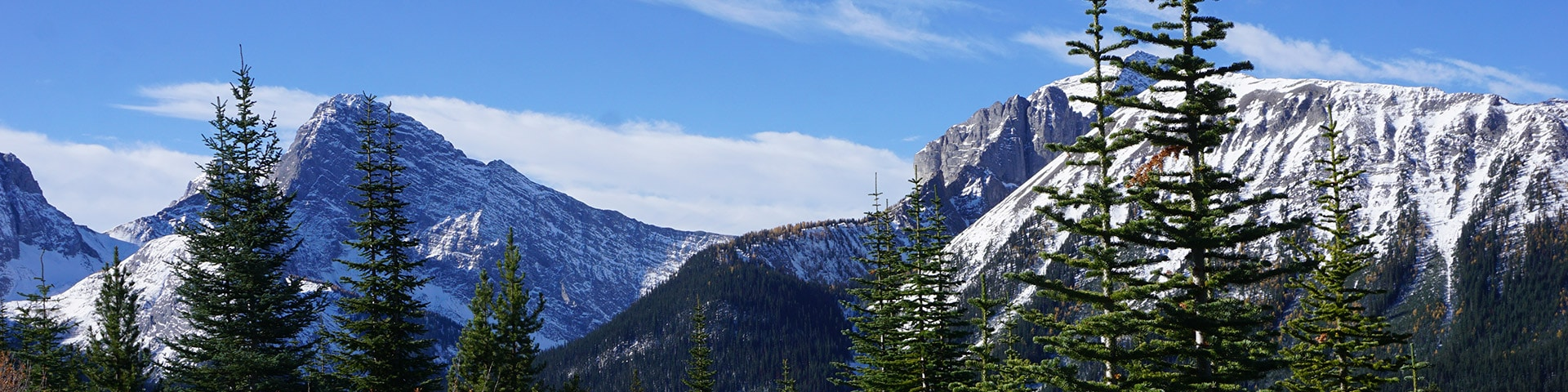 Panoramic views of the Rummel Lake hike from Smith-Dorrien Trail in Kananaskis near Canmore