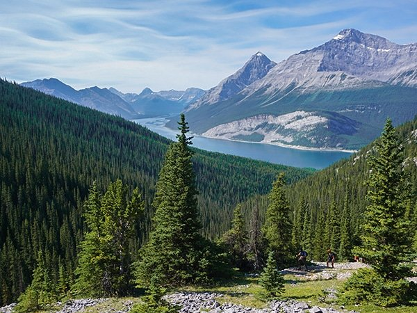 Trail of the West Wind Pass hike from Smith-Dorrien Trail in Kananaskis near Canmore