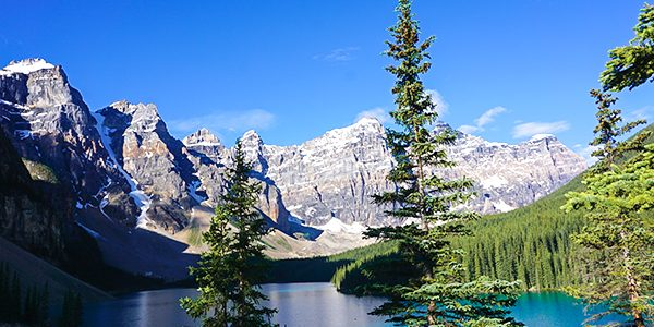 Trail of the Consolation Lakes hike near Lake Louise, Banff National Park