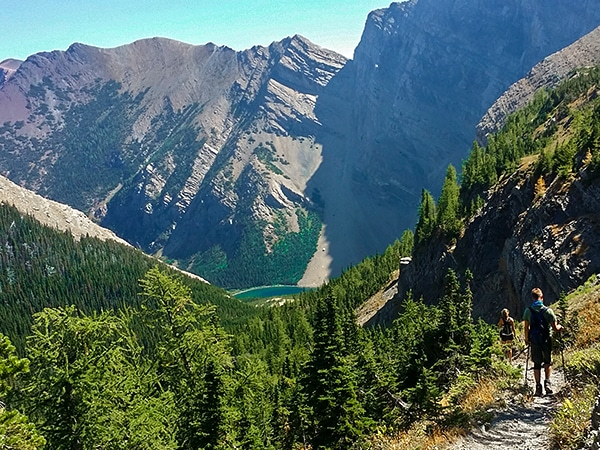 Trail of the Carthew - Alderson hike in Waterton Lakes National Park, Canada