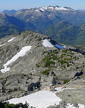 Mt Myra hike in Strathcona Provincial Park, Vancouver Island