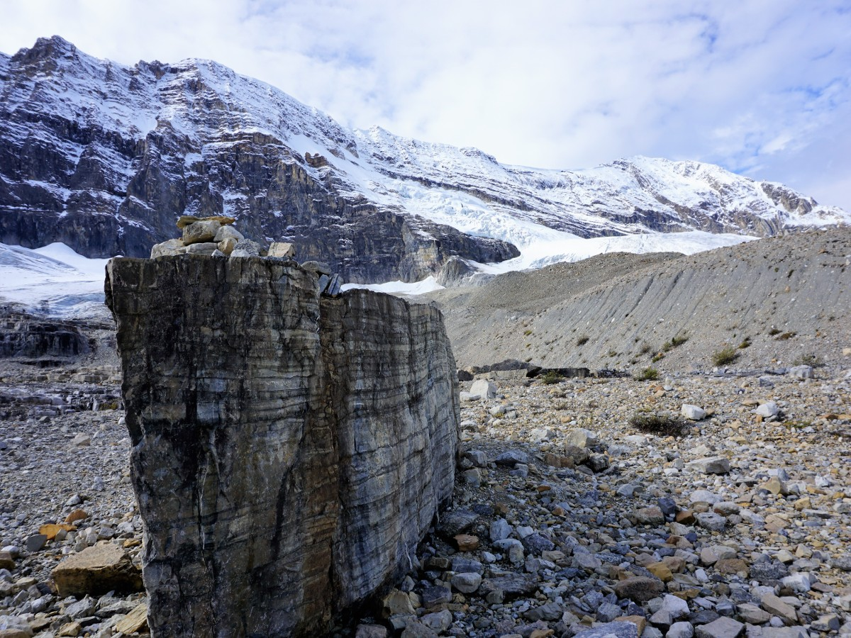 Large Errata on the Iceline Hike in Yoho National Park, Canada
