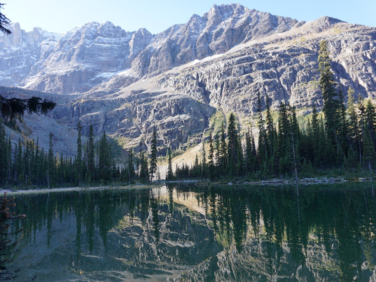 Trail of the Lake O'Hara All Souls Route Hike in Yoho National Park, Canada