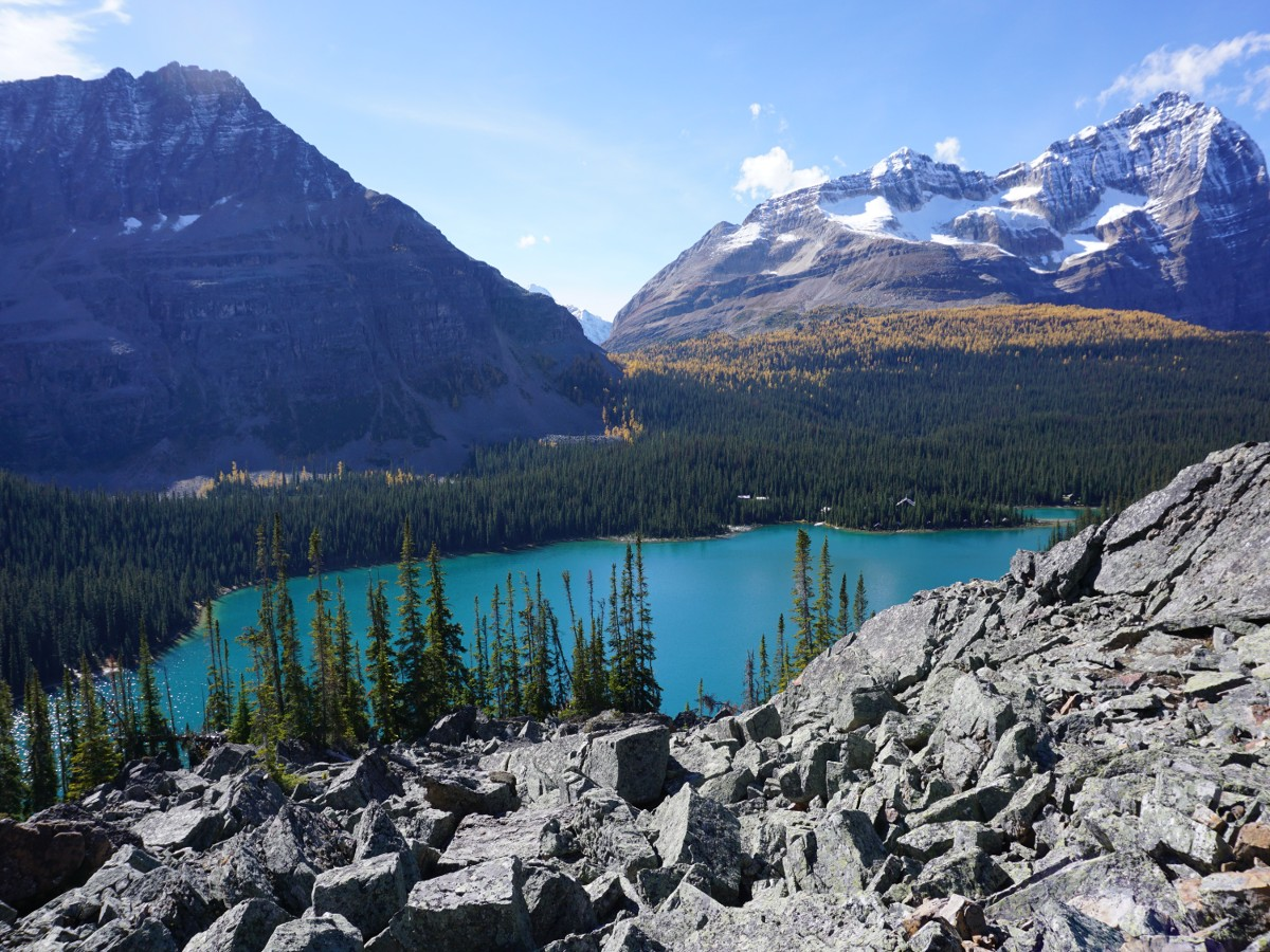 Lake O'Hara All Souls Route Trail in Yoho National Park
