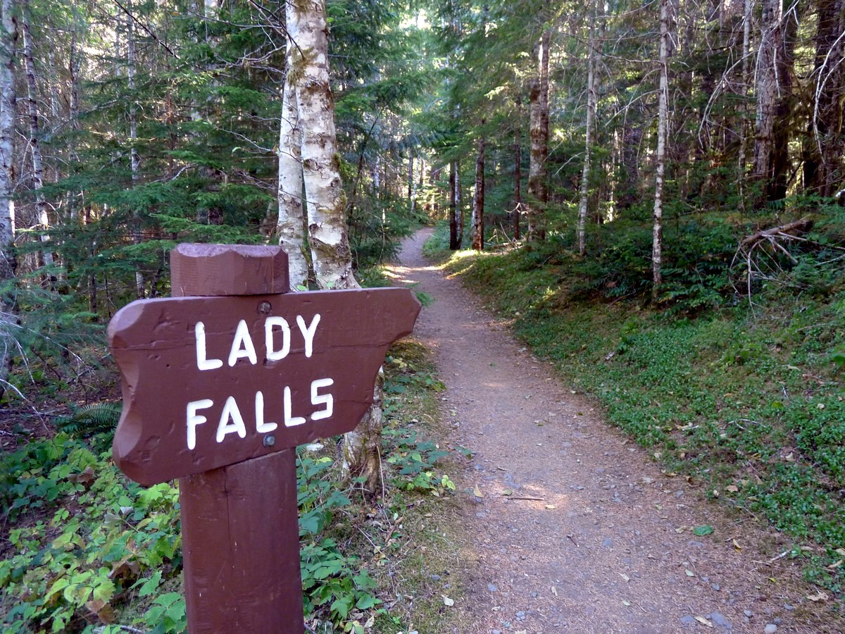 Lady Falls Trailhead