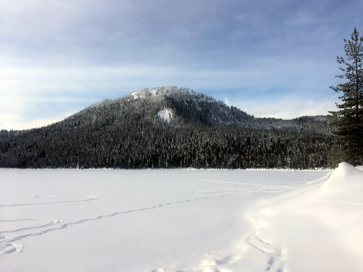 Lake Helen MacKenzie in winter