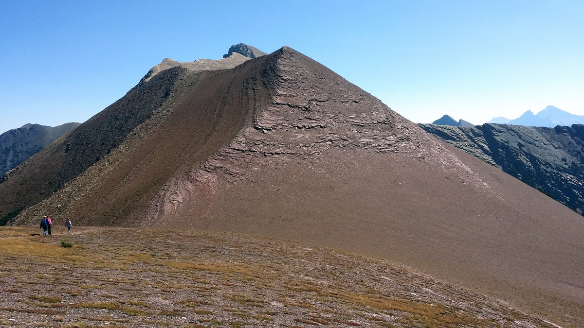 Mount Alderson on the Carthew - Alderson Hike in Waterton Lakes National Park, Canada