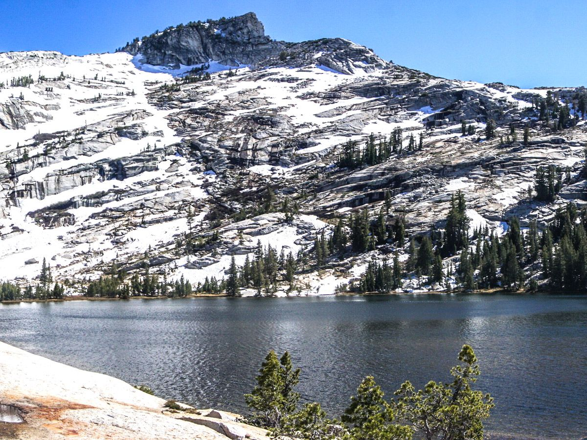 Views of the Cathedral Lakes Hike in Yosemite National Park, California