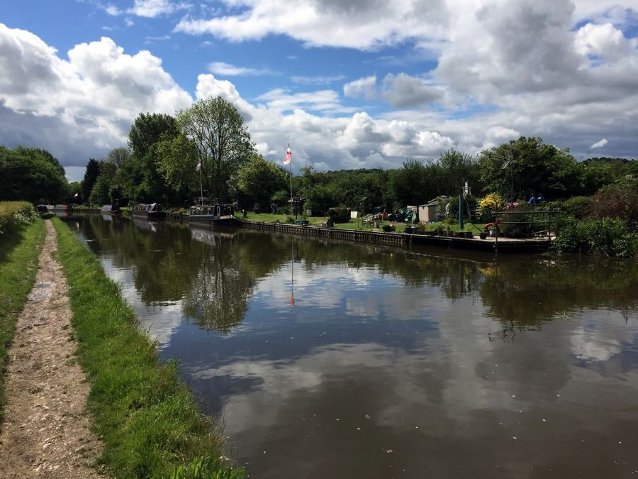 Moorings Along The Canal