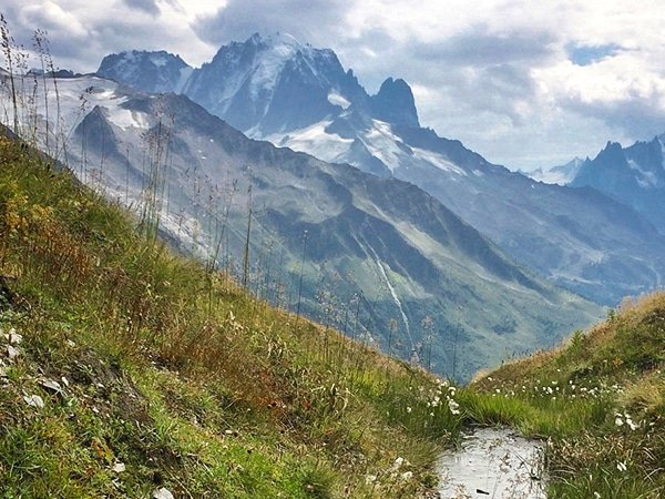 Scenery from the Col de Balme hike in Chamonix, France