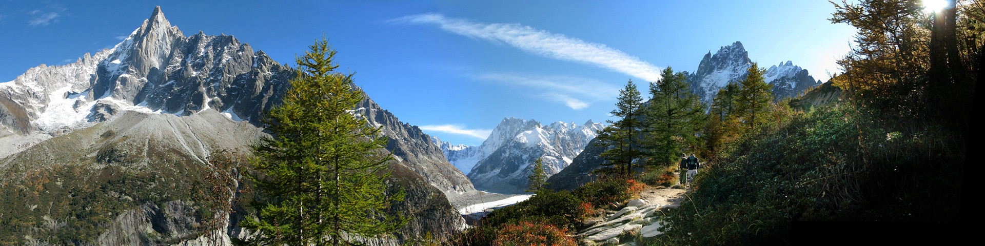 Grand Balcon Nord hike near Chamonix, France