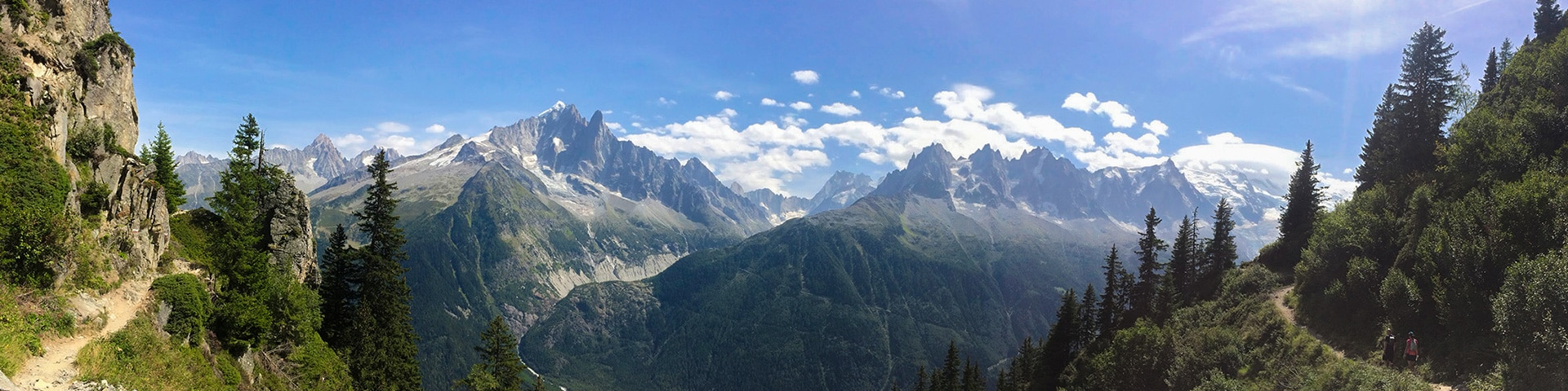 Grand Balcon Sud hike near Chamonix, France