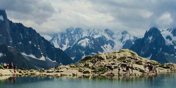 Lac Blanc hike near Chamonix, France