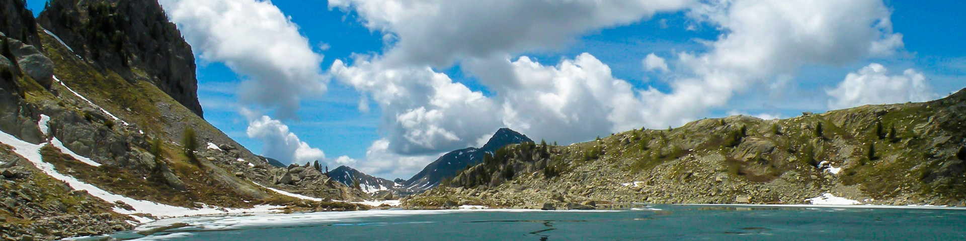 Panorama from the La Lac Nègre hike in Mercantour National Park, France''