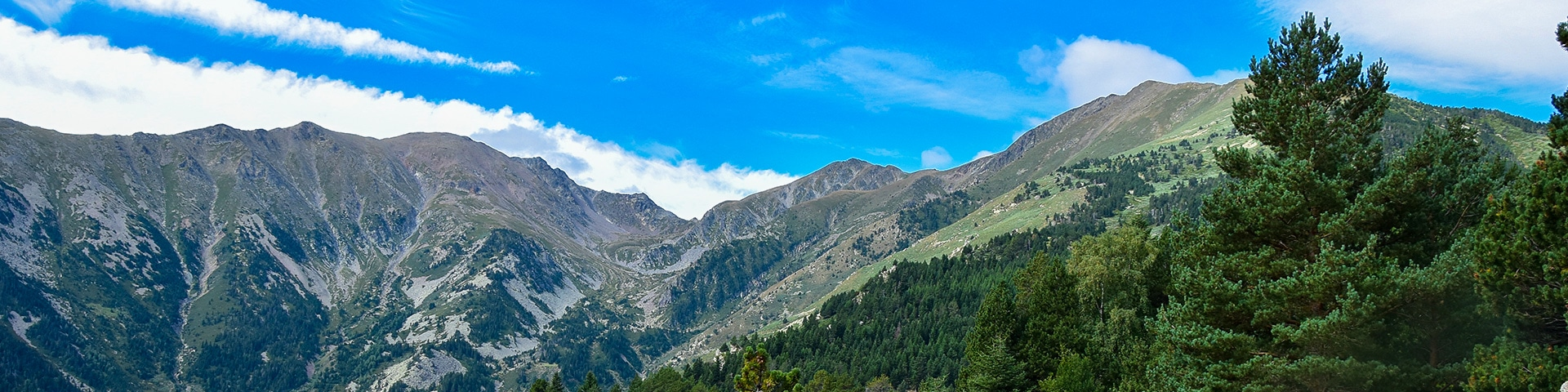 Panoramic views from the Pic du Canigou hike in French Pyrenees